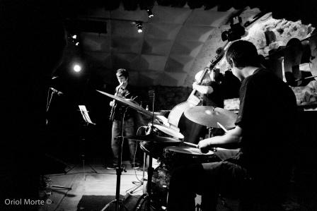 Concert de Jordi SolŽ Quartet a la sala Jamboree el 6 de Juliol de 2011